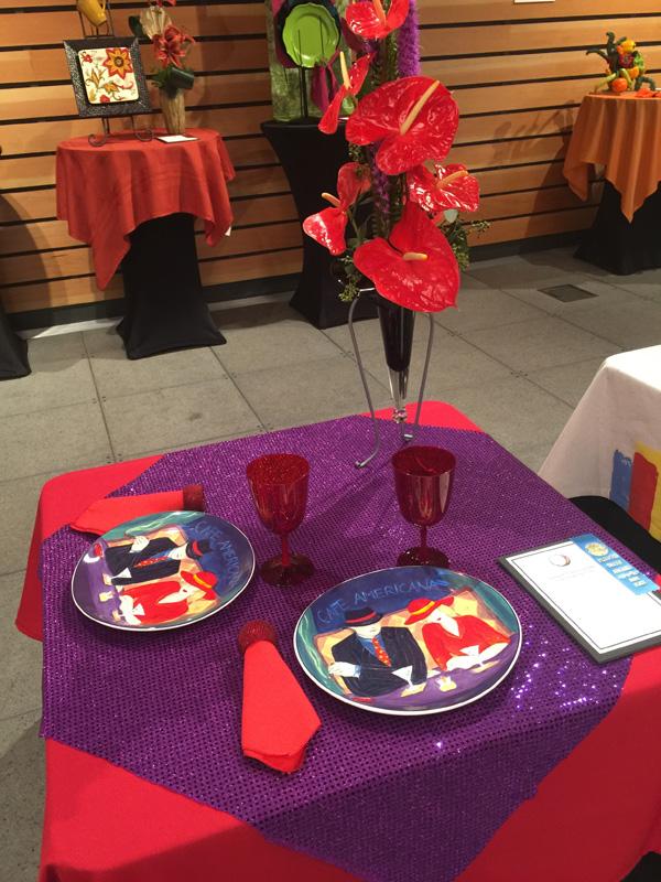 Kathleen Hawrylik Blue Functional Table design