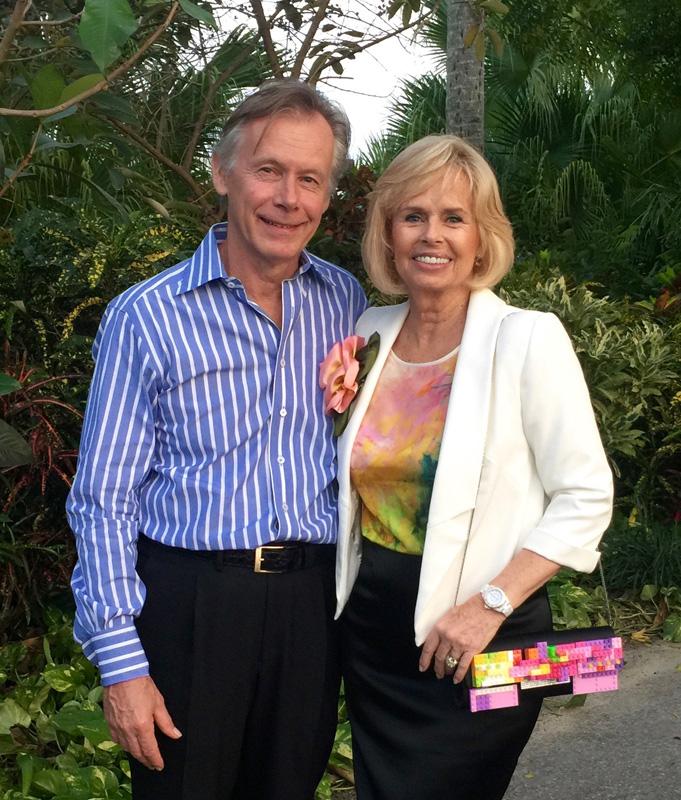 Presidnet Roberta Ross and husband Gil