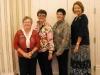 Polly Galliker, Pam Sutton, Karen Medford & Susan Haley