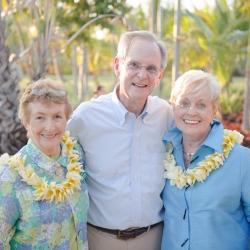 June Kroeschell, Jerry & Bev Metcalf