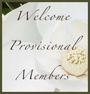 Learn About Our Provisionals