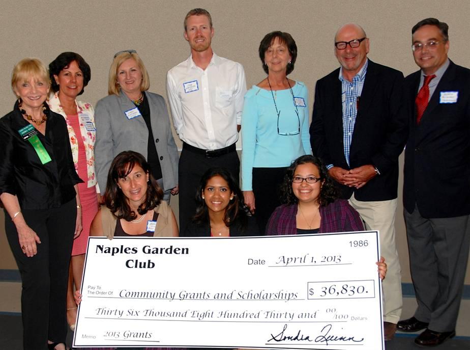 2013 Fellowship & Community Grant Recipients