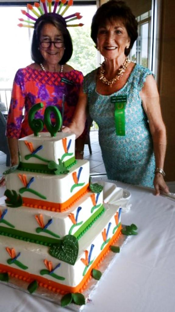 Melina Earle and Linda LaRue Brown