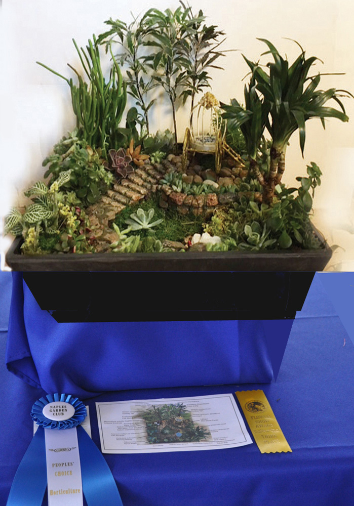 People choice award in Hort