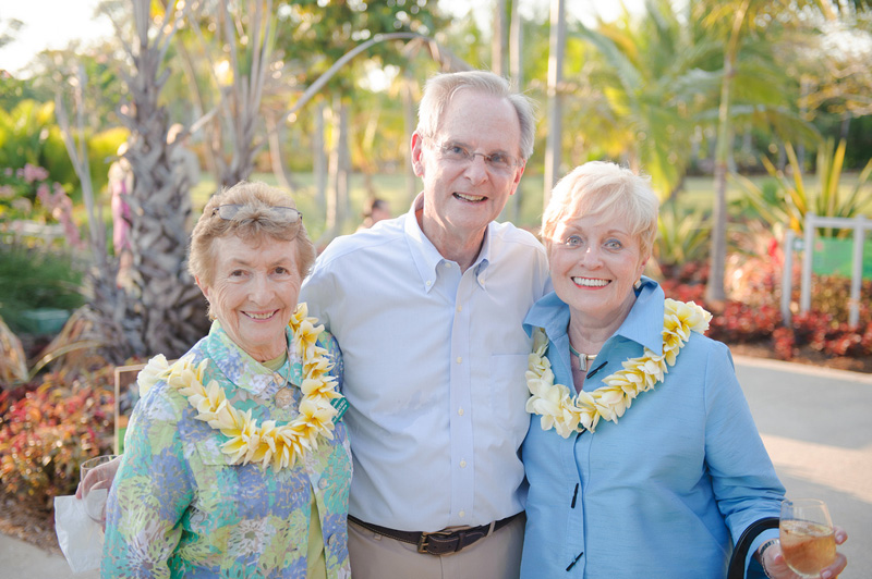 June Kroeschell, Jerry & Bev Metcalf