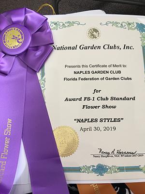 award nalpes style